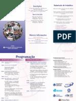 II Colóquio Psicologia da Educação folder
