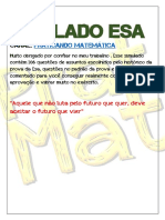 SIMULADO ESA -106 QUESTÕES