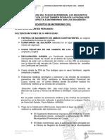 Requisitos Formatos Orec 2021
