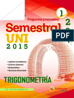 Trigonometria Semestral Uni 2015