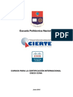 CURSOS DE CERTIFICACION CISCO CCNA