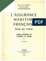 L'assurance maritime française