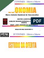 AULA 5 - 2021-1 - Conteúdo IV - Microeconomia - Estudo da Oferta(1)