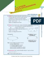 esercizi matematica multipli e divisori