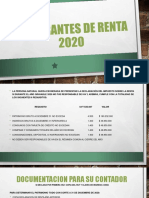 DECLARANTES DE RENTA 2020 DMD