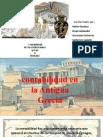 expocicion contabilidad egocia y griega