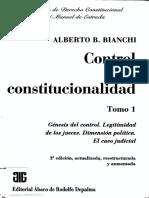 Alberto Bianchi - Control de constitucionalidad Tomo 1