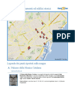 8799 Barcellona Monumenti Ed Edifici Storici