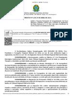 Provimento VPCRE n 4-2021 - Institui o Programa Permanente de Acompanhamento