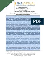 Teoria da norma Penal - Material de Apoio Leitura Complementar - 2018