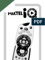 Foxtel IQ Remote