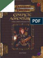 Classes Complete Adventurer