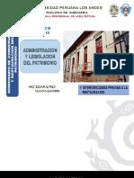 10. INTERVENCIONES EN EL PATRIMONIO CULTURAL