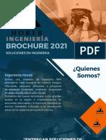 Brochure Ingeniería Horeb 2021