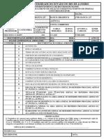 Modelo Completo de Checklist