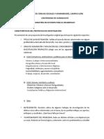 Características del Protocolo