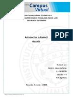 Glosario de Terminos Basicos. Morfologia (1)
