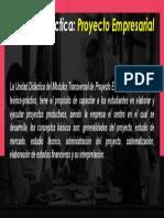 Unidad Didáctica-Proyecto Empresarial