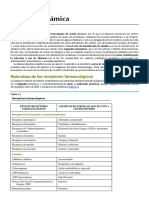 Lectura 2 - Interacción Fármaco receptor y Dosis - Farmacodinámica