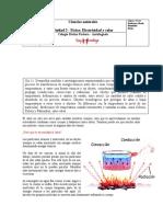 8º básico Guía Complemento al contenido EL CALOR(1) - copia