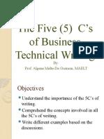 5 Cs Effective Writing
