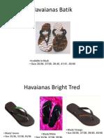 havaianas catalog