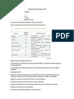 Gestión Ambiental según la CFN