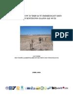 Evaluation d'impact immédiat des interventions dans le sud  (Cluster sécurité alimentaire et moyens de subsistance / 2010)