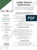 CV (TCF) - ANIBE MOULO EMMANIUEL