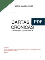 Cartas e Cronicas - Chco Xavier - Irmão X