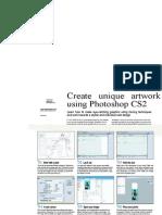Membuat unique artwork Menggunakan Photoshop Cs 2