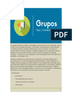 CEC TIPOS DE GRUPOS Y GO