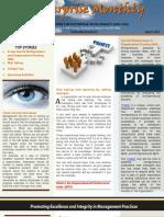 Enterprise Newsletter 001 March 2011_ Timothy Mahea
