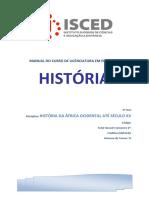 MODULO DE HISTÓRIA DA ÁFRICA OCIDENTAL ATÉ SÉCULO XV