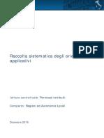 Regioni e autonomie locali - Raccolta sistematica orientamenti permessi retribuiti Dicembre 2016
