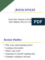 LearningStyles