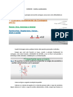 matemática - análise combinatória