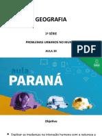 1ªsérie 34 Problemas Urbanos No Mundo Geografia