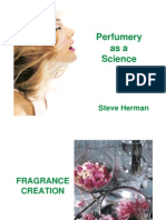 Perfumery as Science (Steeve Herman)