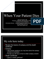 Autopsy and Death Certificates 2011