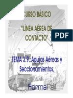 TEMA3.9. AGUJAS AÉREAS Y SECCIONAMIENTOS