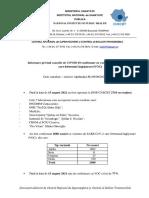 S 32_Informare Cazuri Cu Variante Care Determina Îngrijorare (VOC)