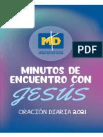 MATERIAL RELIGION Oracional marzo