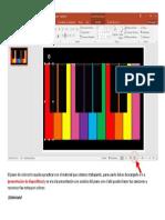 El Piano de Colores Te Ayuda a Practicar