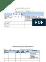 CUADRO DE ANÁLISIS DE RESULTADOS-EVALUACIÓN DIAGNÓSTICA
