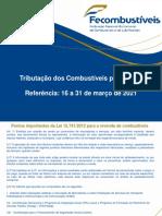 Carga tributria estadual - MARO 2021 - 2 quinzena com Decreto 10638