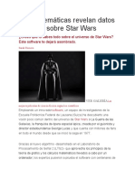 Las Matemáticas Revelan Datos Curiosos Sobre Star Wars