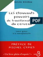 Les étonnants pouvoirs de transformation du cerveau - PDF Room