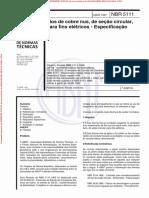 NBR5111 - Arquivo para impressão