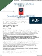 Gestion de la relation client - Pierre Allard et Damien DIRRINGER